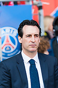Unai Emery coach (psg) during the French Championship Ligue 1 football match between Paris Saint-Germain and SCO Angers on march 14, 2018 at Parc des Princes stadium in Paris, France - Photo Pierre Charlier / ProSportsImages / DPPI