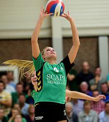 12-04-2014 NED: Finale vv Alterno - Sliedrecht Sport, Apeldoorn<br /> Alterno pakt het kampioenschap door Sliedrecht voor de derde maal te verslaan / Lisette Stindt