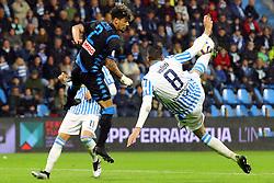 Foto LaPresse/Filippo Rubin<br /> 12/05/2019 Ferrara (Italia)<br /> Sport Calcio<br /> Spal - Napoli - Campionato di calcio Serie A 2018/2019 - Stadio &quot;Paolo Mazza&quot;<br /> Nella foto: MATTIA VALOTI (SPAL)<br /> <br /> Photo LaPresse/Filippo Rubin<br /> May 12, 2019 Ferrara (Italy)<br /> Sport Soccer<br /> Spal vs Napoli - Italian Football Championship League A 2018/2019 - &quot;Paolo Mazza&quot; Stadium <br /> In the pic: MATTIA VALOTI (SPAL)
