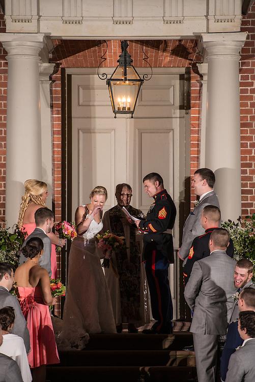 Sam and Thera Wedding   New Bern Photographers
