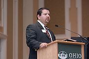 Appalachian Scholars Open House Program in New Baker...David Garcia, director of undergraduate admissions