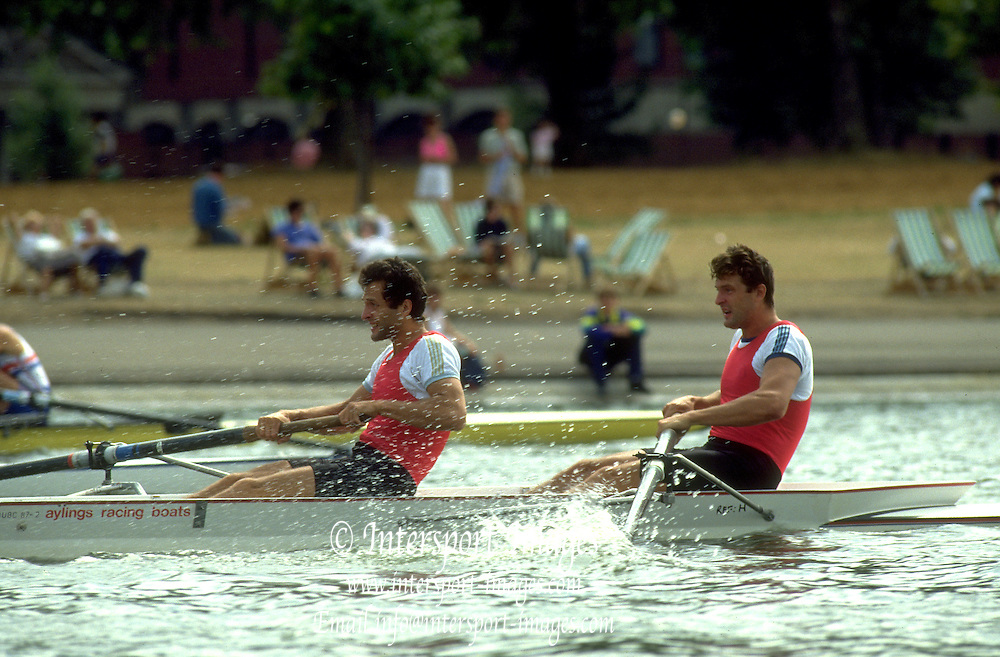 Peter Spurrier Sports  Photo<br />email pictures@rowingpics.com<br />Tel 44 (0) 7973 819 551<br />Photo Peter Spurrier<br />Serpentine Regatta<br />Piminov brothers RUS M2-
