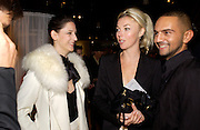 Maria Grachvogel, Tamara Beckwith and Mohieb, Party hosted by Alexandra Shulman, Rupert Hambro and Prof  Jack Lohman to open 'The London Look, Fashion from Street to Catwalk', Museum of London. ONE TIME USE ONLY - DO NOT ARCHIVE  © Copyright Photograph by Dafydd Jones 66 Stockwell Park Rd. London SW9 0DA Tel 020 7733 0108 www.dafjones.com