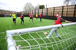 Bristol City Community Trust walking football - Mandatory by-line: Dougie Allward/JMP - 20/03/2018 - FOOTBALL - South Bristol Sports Centre - Bristol, England -  v  - EFL Day of action BCCT