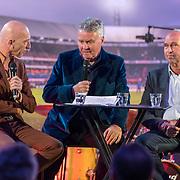 NLD/Rotterdam/20180412 - Hoe Zuid-Korea Guus Hiddink veroverde première, Wilfred de Jong, Guus Hiddink en Pim Verbeek