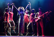 Soul Sister<br /> a new musical inspired by the life &amp; times of Ike &amp; Tina Turner <br /> at The Savoy Theatre,  London, Great Britain <br /> Press photocall <br /> 22nd August 2012 <br /> <br /> <br /> Emi Wokama (as Tina Turner)<br /> <br /> Chris Tummings (as Ike Turner)<br /> <br /> <br /> Photograph by Elliott Franks