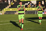Forest Green Rovers Paul Digby(20) during the EFL Sky Bet League 2 match between Forest Green Rovers and Cheltenham Town at the New Lawn, Forest Green, United Kingdom on 20 October 2018.