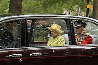 Queen Elizabeth; Prince Philip Duke Of Edinburgh William & Kate Royal Wedding, London, UK, 29 April 2011:  Contact: Rich@Piqtured.com +44(0)7941 079620 (Picture by Richard Goldschmidt)