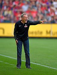Football: Germany, 1. Bundesliga, SC Freiburg - FC Bayern Muenchen, Freiburg - 16.05.2015,<br /> Trainer Christian Streich (Freiburg)<br /> <br /> &copy; pixathlon<br /> <br /> +++ NED out !!! +++