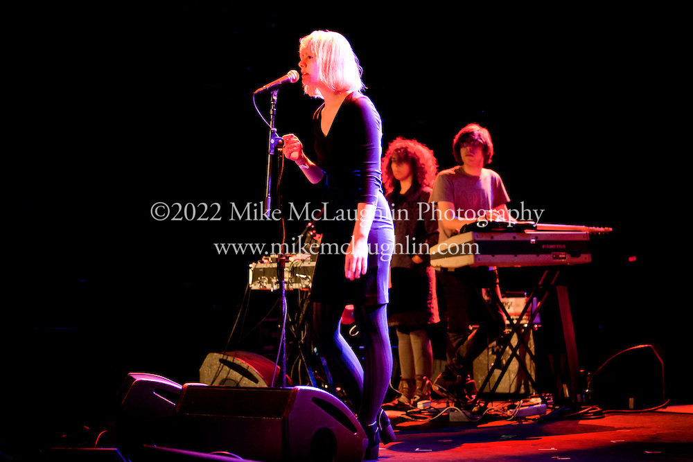Sunday, October 2, 2011 Asbury Park, New Jersey.<br /> Anika performs at The Paramount Theater during the I'll Be Your Mirror festival, presented by All Tomorrow's Parties, in Asbury Park, New Jersey.<br /> &copy;2011 Mike McLaughlin / All Rights Reserved<br /> www.mikemclaughlin.com