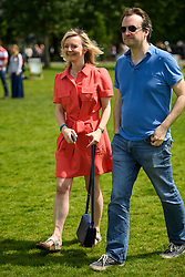 © Licensed to London News Pictures. 19/06/2016. London, UK. LIZ TRUSS MP attends 'The Big In' event at Hyde Park in London to promote an in vote at this week's EU membership referendum. Photo credit: Ben Cawthra/LNP