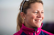 The Artemis Challenge at Aberdeen Asset Management Cowes Week 2014. <br /> Team SCA skipper Sam Davies<br /> <br /> FREE for editorial use. Credit: Lloyd Images