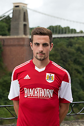 Lewis Hall of Bristol City - Photo mandatory by-line: Kieran McManus/JMP - Tel: Mobile: 07966 386802 31/07/2013 - SPORT - FOOTBALL - Avon Gorge Hotel - Clifton Suspension bridge - Bristol -  Team Photo