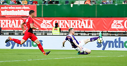 05.05.2018, Ernst Happel Stadion, Wien, AUT, 1. FBL, FK Austria Wien vs FC Flyeralarm Admira, 33. Runde, im Bild Kevin Friesenbichler (FK Austria Wien) // during Austrian Football Bundesliga Match, 33rd Round, between FK Austria Vienna and FC Flyeralarm Admira at the Ernst Happel Stadion, Vienna, Austria on 2018/05/05. EXPA Pictures © 2018, PhotoCredit: EXPA/ Alexander Forst
