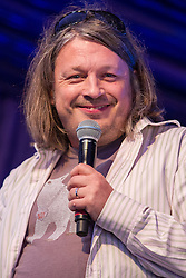 © Licensed to London News Pictures . 21/07/2013 . Suffolk , UK . Richard Herring on the Comedy Stage . The Latitude music and culture festival in Henham Park , Southwold . Photo credit : Joel Goodman/LNP