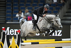 Whitaker John, (GBR), Cristobal<br /> Prize of Raumpflege Jumping<br /> Stuttgart - German Masters 2015<br /> © Hippo Foto - Stefan Lafrentz