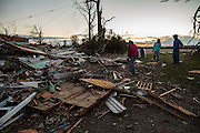 Nov. 17, 2013 - Washington, IL, USA - <br /> <br /> Deadly Tornadoes Hit Illinois<br /> Lindsay and Ben Dubois lost their home after a tornado left a trail of damage in Washington, Ill., on Sunday, Nov. 17, 2013.<br /> ©Exclusivepix