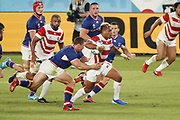 Lomano LAVA LEMEKI (JPN) during the Japan 2019 Rugby World Cup Pool A match between Japan and Russia at the Tokyo Stadium in Tokyo on September 20, 2019.