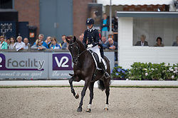 Klinkers Kyra, NED, Equirelle W<br /> World Championship Young Dressage Horses <br /> Ermelo 2016<br /> © Hippo Foto - Dirk Caremans<br /> 29/07/16