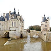 Chateau de Chenonceau in the Loire Valley