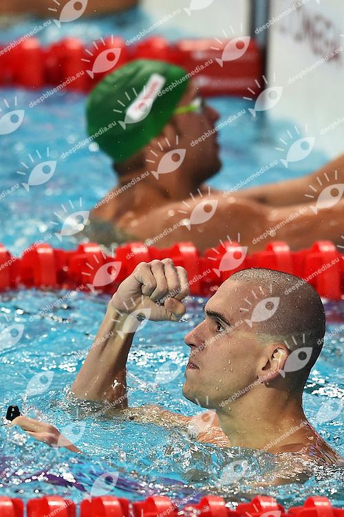 CSEH Laszlo HUN Gold MEdal Men's 200m Butterfly <br /> Day13 05/08/2015 Kazan Arena <br /> Swimming Nuoto <br /> XVI FINA World Championships Aquatics  <br /> Kazan Tatarstan RUS <br /> Photo Andrea Staccioli/Deepbluemedia/Insidefoto
