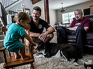 Morgan Engeman decided to have his father, Tom, move in with him and his family so he could better care for him. Its an interesting dynamic to see his son grow and learn, while his father, who suffers from Alzheimer's, disappears. Tom's disease has progressed far enough that he doesn't know that the children living with him are his grandchildren.