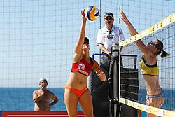 20140605 ITA: EK Beachvolleybal, Cagliari<br /> Marleen van Iersel<br /> ©2014-FotoHoogendoorn.nl / Pim Waslander