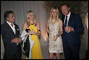 STEVE KORDAS; DIANE KORDAS; SABINA MCTAGGART; LORD ST. JOHN OF BLETSO,  Cartier dinner in celebration of the Chelsea Flower Show. The Palm Court at the Hurlingham Club, London. 19 May 2014.