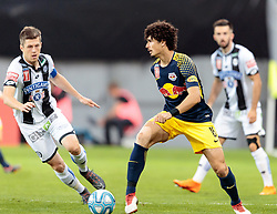 09.05.2018, Woerthersee Stadion, Klagenfurt, AUT, OeFB Uniqa Cup, SK Puntigamer Sturm Graz vs FC Red Bull Salzburg, Finale, im Bild v.l. Deni Alar (SK Puntigamer Sturm Graz), Andre Ramalho (FC Red Bull Salzburg), // during the final match of the ÖFB Uniqa Cup between SK Puntigamer Sturm Graz and FC Red Bull Salzburg at the Woerthersee Stadion in Klagenfurt, Austria on 2018/05/09. EXPA Pictures © 2018, PhotoCredit: EXPA/ Johann Groder