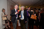 ANDREW BARROW; JAMES HUGHES-ONSLOW, Book launch party for the paperback of Nicky Haslam's book 'Sheer Opulence', at The Westbury Hotel. London. 21 April 2010