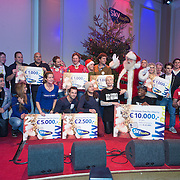 NLD/Hilversum /20131210 - Sky Radio Christmas Tree For Charity 2013, alle deelnemers