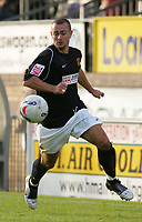 Photo: Frances Leader.<br />Wycombe Wanderers v Chester City. Coca Cola League 2.<br />01/10/2005.<br /><br />Chester's captain Michael  Branch