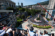 May 24-27, 2017: Monaco Grand Prix. Start of the Monaco Grand Prix with Lewis Hamilton (GBR), Mercedes AMG Petronas Motorsport, F1 W08