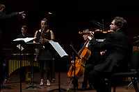 The Contempo-Jazz Double Bill with Imani Winds, Ensemble Dal Niente, and Craig Taborn was held Friday evening, February 9th, 2018 at the Reva and David Logan Center located at 915 E. 60th Street. The evening centered around compositions by women composers across generations and genres.<br /> <br /> Imani Winds and members of Ensemble Dal Niente perform Basoon Concertino by Augusta Read Thomas.<br /> <br /> Please 'Like' &quot;Spencer Bibbs Photography&quot; on Facebook.<br /> <br /> Please leave a review for Spencer Bibbs Photography on Yelp.<br /> <br /> Please check me out on Twitter under Spencer Bibbs Photography.<br /> <br /> All rights to this photo are owned by Spencer Bibbs of Spencer Bibbs Photography and may only be used in any way shape or form, whole or in part with written permission by the owner of the photo, Spencer Bibbs.<br /> <br /> For all of your photography needs, please contact Spencer Bibbs at 773-895-4744. I can also be reached in the following ways:<br /> <br /> Website &ndash; www.spbdigitalconcepts.photoshelter.com<br /> <br /> Text - Text &ldquo;Spencer Bibbs&rdquo; to 72727<br /> <br /> Email &ndash; spencerbibbsphotography@yahoo.com