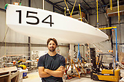 Preparation of the Lift 40 ( Class 40 ) for the skipper Yoann Richomme before the Route du Rhum 2018 at Gepeto Composite, Gepeto Composites capitalising on their expertise in composite boat building for high-tech racing yachts, Gepeto Composites is based in Lorient Keroman Submarine Base, France, on March 25, 2018 - Photo Christophe Launay / ProSportsImages / DPPI