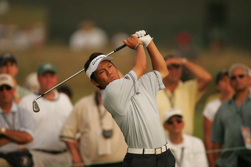 Hidemichi Tanaka.2004 U.S. Open Championship.Shinnecock Hills CC.Southampton, NY.Second Round.Friday, June 18, 2004..photograph by Darren Carroll