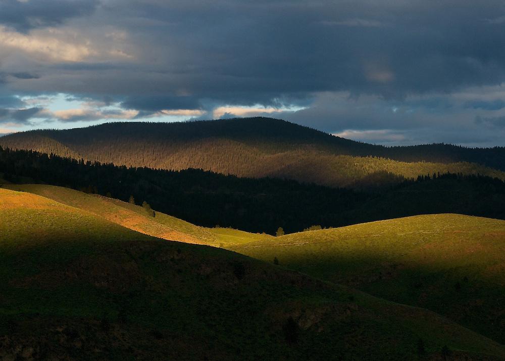 Methow Valley evening light