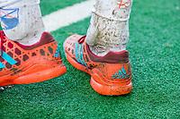BLOEMENDAAL  - kunstgras, algen, modder, smerig, groen, adidas, alg, vuil, mud,  , competitiewedstrijd junioren  landelijk  Bloemendaal JA1-Nijmegen JA1 (2-2) . COPYRIGHT KOEN SUYK
