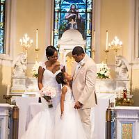 Brian & Anya Wedding Album Samples   JW Marriott, St. John the Baptist Church, Crystal Palace Ballroom   1216 Studio Wedding Photography