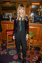 LAURA HAYDEN at an intimate performance by All Saints held at Annabel's, 44 Berkeley Square, London on 4th May 2016.