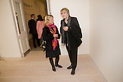 VIRGINIA DAMPSTA; NICK RHODES, Unveiled; New art from the Middle East. The Saatchi Gallery in partnership with Phillips de Pury. Saatchi Gallery. King's Rd. London. 29 January 2009 *** Local Caption *** -DO NOT ARCHIVE-© Copyright Photograph by Dafydd Jones. 248 Clapham Rd. London SW9 0PZ. Tel 0207 820 0771. www.dafjones.com.<br /> VIRGINIA DAMPSTA; NICK RHODES, Unveiled; New art from the Middle East. The Saatchi Gallery in partnership with Phillips de Pury. Saatchi Gallery. King's Rd. London. 29 January 2009