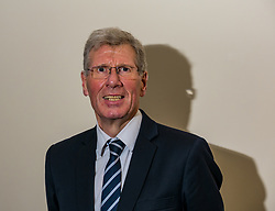 North Berwick, East Lothian, Scotland, United Kingdom, 28 November 2019. General Election: First hustings for the 5 candidates seeking election as MP for East Lothian with questions from the audience rating fro Defence to Honesty. Pictured: former Justice Secretary Kenny MacAskill, Scottish National Party (SNP) candidate.  Credit: Sally Anderson/Alamy Live News