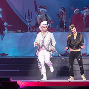 NLD/Amsterdam/20171223 - The Christmas Show 2017 in de Ziggo Dome, Carlo Boszhard en Buddy Vedder