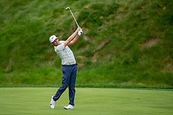 June 3, 2018 - Dublin, OH, U.S. - DUBLIN, OH - JUNE 03: Nick Watney hits the ball off the fairway during the final round of the Memorial Tournament at Muirfield Village Golf Club in Dublin, Ohio on June 03, 2018.(Photo by Adam Lacy/Icon Sportswire) (Credit Image: © Adam Lacy/Icon SMI via ZUMA Press)