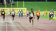 GERMISTON, SOUTH AFRICA, Saturday 25 February 2011,400m relay  during the Yellow Pages Interprovincial held at the Herman Immelman stadium..Photo by ImageSA/ASA.
