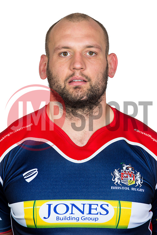 Dan Tuohy of Bristol Rugby Poses for a headshot  - Rogan Thomson/JMP - 14/12/2016 - RUGBY UNION - Clifton Rugby Club - Bristol, England.