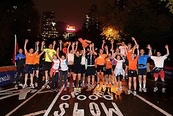 31-10-2013 ALGEMEEN: BVDGF NY MARATHON: NEW YORK <br /> Na een lange vlucht even de beentje los lopen in het Central Park<br /> ©2013-WWW.FOTOHOOGENDOORN.NL