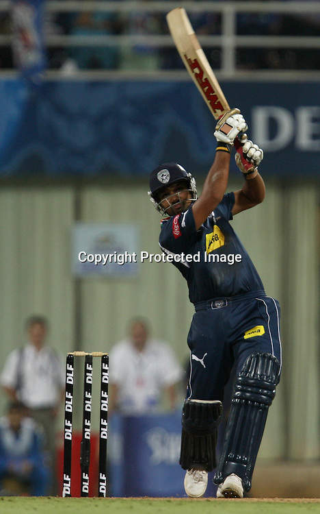 Deccan Chargers Batsman Rohit Sharma Hit The Shot Against  Mumbai Indians During The Deccan Chargers vs Mumbai Indians, 25th Twenty20 match Indian Premier League- 2009/10 season Played at Dr DY Patil Sports Academy, Mumbai 28 March 2010 - day/night (20-over match)