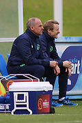 Colin O'Brien Republic of Ireland Coach during the UEFA European Under 17 Championship 2018 match between Bosnia and Republic of Ireland at Stadion Bilino Polje, Zenica, Bosnia and Herzegovina on 11 May 2018. Picture by Mick Haynes.