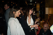 FRANCESCA AMFITEROF AND ANNABEL NEILSON, Party hosted by Christies for a private view of 'Naked Portrait with Reflection' by Lucian Freud. Automat, Berkeley St. London.17 June 2008. *** Local Caption *** -DO NOT ARCHIVE-© Copyright Photograph by Dafydd Jones. 248 Clapham Rd. London SW9 0PZ. Tel 0207 820 0771. www.dafjones.com.